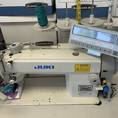 Computerized Juki Walking Foot Industrial Sewing Machine And Table