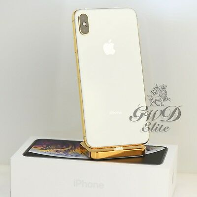 Apple iPhone XS Max 512gb 24k Gold Plated Factory Unlock with BLK Screen for sale  Shipping to India