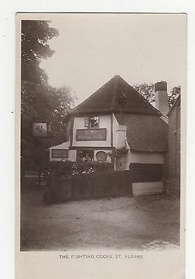 St. Albans, The Fighting Cocks RP Postcard, A412