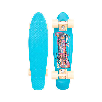 "Penny Skateboard Cruiser Plastic Complete Postcard Coastal Blue 22"" Penny Board"