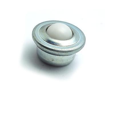 Us Stock 2pcs 12mm Ball Nylon Transfer Bearing Unit Ball Wheel Conveyor Roller