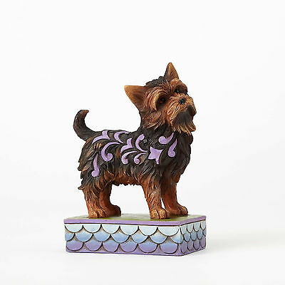 Jim Shore canine creations Heartwood Yorkshire Terrier 4056959 NEW Izzie PET DOG