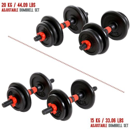XN8 Adjustable Dumbbells Weight 33 lb 44 lb Gym Fitness Training Workout Dumbell