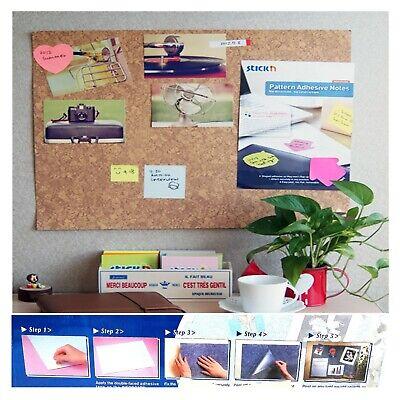 bacheca adesiva tipo sughero rimovibile pannello per appunti ufficio in casa