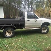 1995 Toyota Hilux trayback Valla Nambucca Area Preview