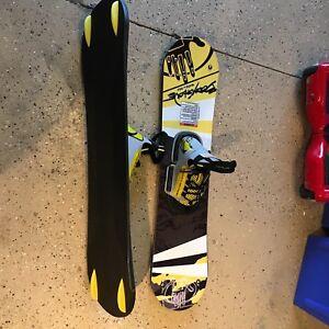 Wake ski wakeboard