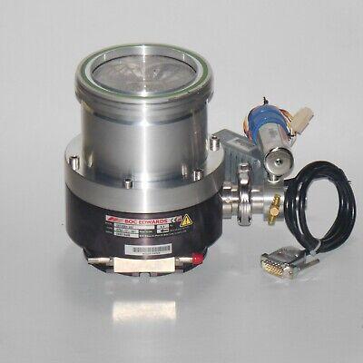 Edwards Ext 255h Turbo Molecular Compound Single Shaft High Pressure Vacuum Pump
