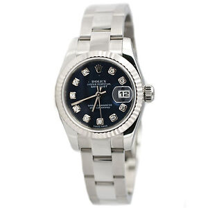 Rolex-Womens-Diamond-Datejust-Stainless-Steel-Watch-179174