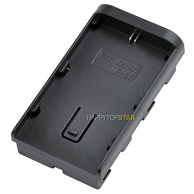 Change Canon LP-E6 to SONY F570/F770/F970 Battery Pack Adapter/Holder to Sony