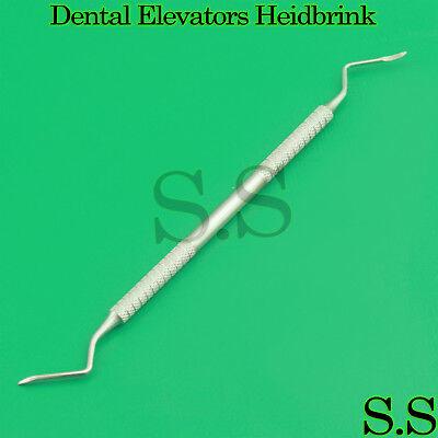 3 Pcs 2-3 Heidbrink Dental Root Tip Picks Surgical Elevator Instruments