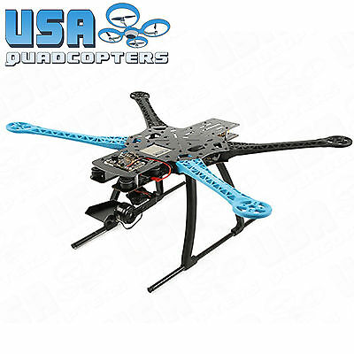 Dead-Cat Pro 500mm Quadcopter Frame Kit w/ 2-Axis Mobius Gimbal and PDB