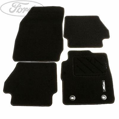 Genuine Ford Fiesta MK7 Front Rear Contour Floor Mat Carpet Set 1526895