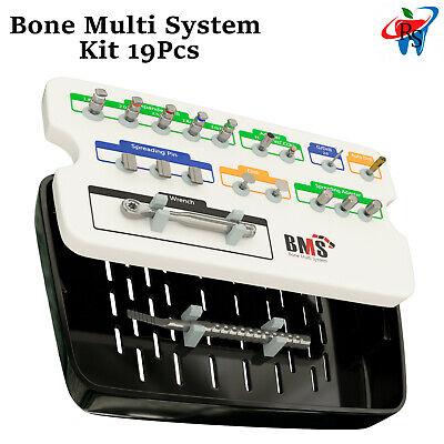 Dental Implant Surgical Bone Spreading Kit Narrow Ridge Split Drill Chisel