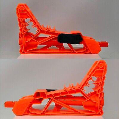 Nerf Sharpfire Shoulder Stock Orange Replacement Parts For Blaster Gun