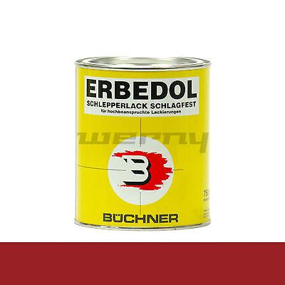 Büchner Erbedol RAL 3000 feuerrot Lack Farbe Kunstharzlack 750 ml 14,53€/L