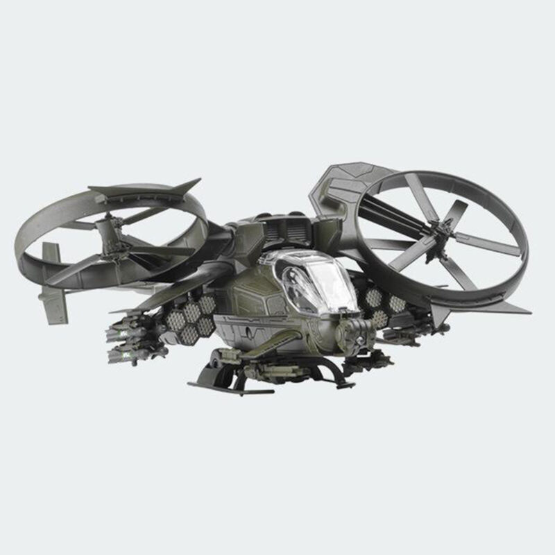 1:48 Scale Helicopter Model Gunship Aircraft Statue Toys for Kids
