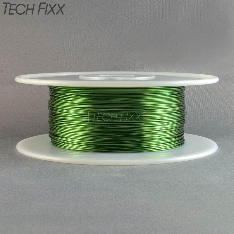 Magnet Wire 20 Gauge AWG Enameled Copper 630 Feet 2 Lbs Coil Winding 155°C Green