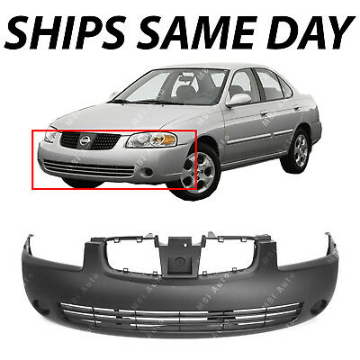NEW Primered - Front Bumper Cover Fascia for 2004 2005 2006 Nissan Sentra 04-06