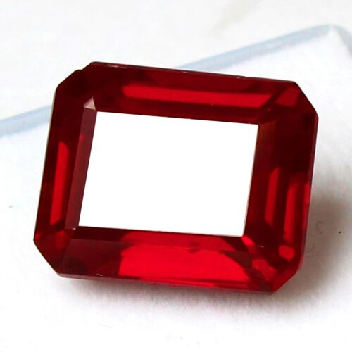 Natural 17.00 Ct Certified Burma Pigeon Blood Red Ruby Unheated Loose Gemstones
