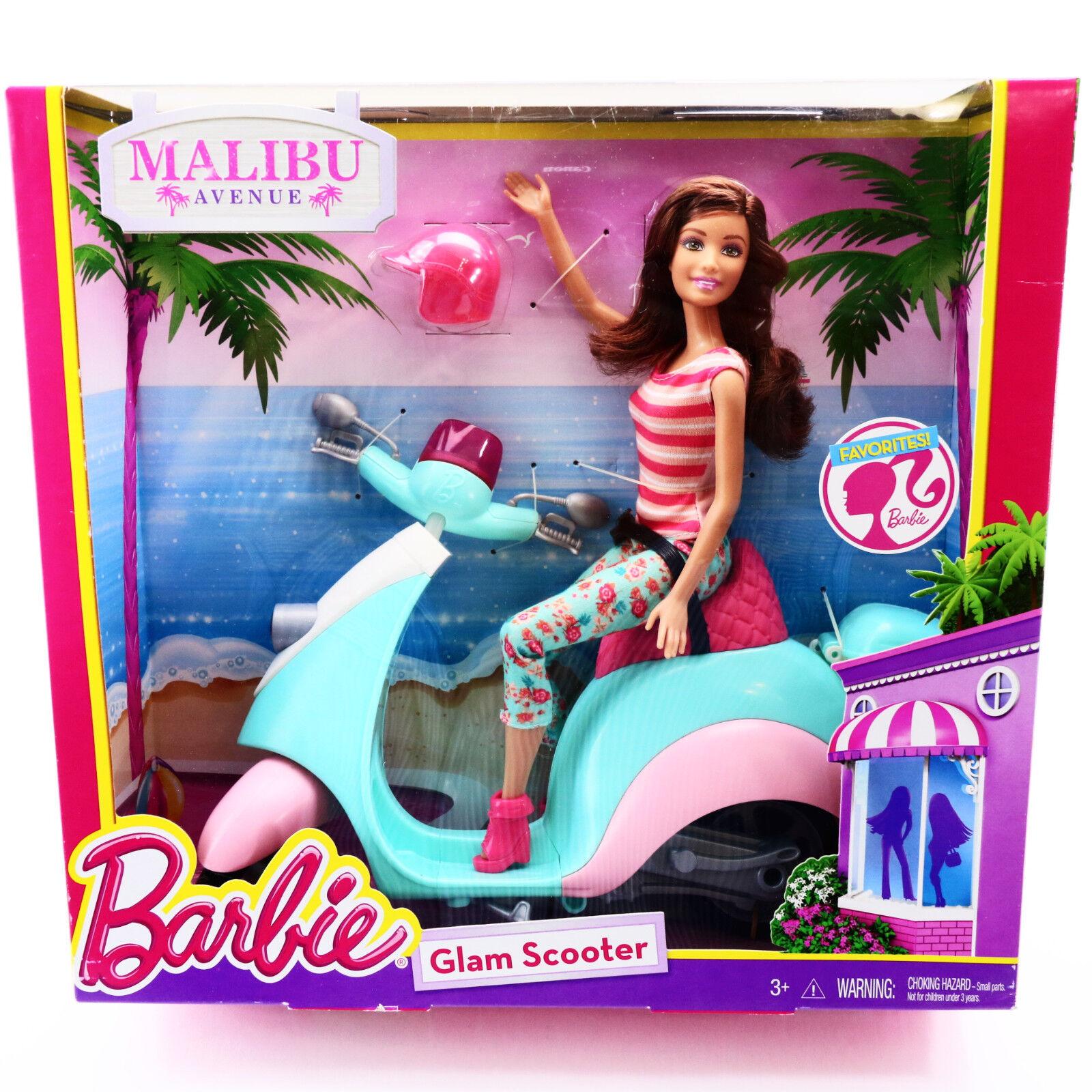 Barbie Scooter Doll Glam Malibu Ave Teresa RARE Toys For Gir