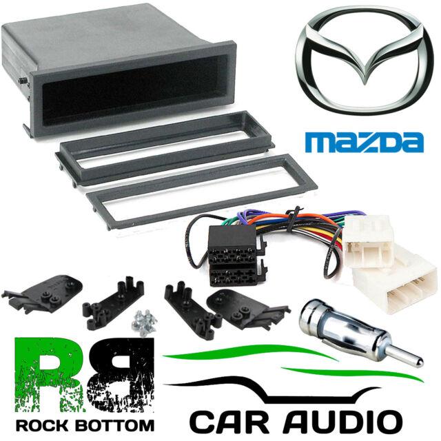 MAZDA Bongo 1991-2001 Car Stereo Radio Universal DIN E Fascia Pocket Fitting Kit