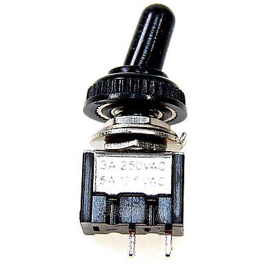 Mini Kippschalter 3A / 250V   Ein/Aus mit Wasserdichter Schutzkappe Wasserdicht