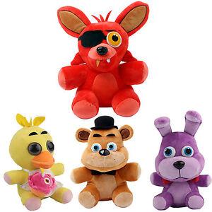 At freddy s fnaf foxy fazbear bear plushie doll plush toys 10 quot ebay