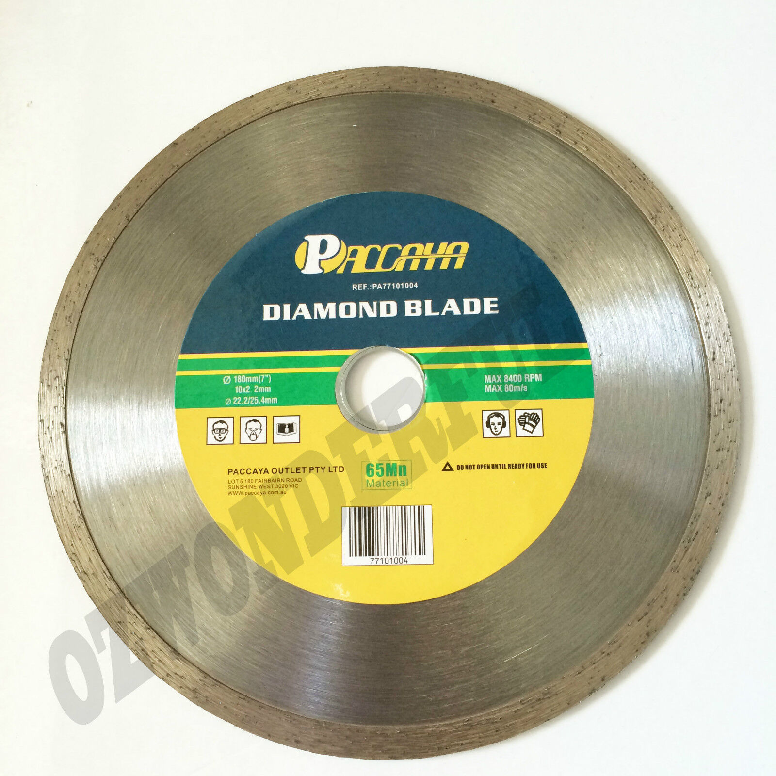 180mm 7 Quot Dry Wet Turbo Diamond Cutting Disc Saw Blade