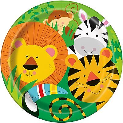 Jungle Themed Table Covers (Animal Jungle Themed Party Supplies, Jungle Party cups, plates, table cover,)