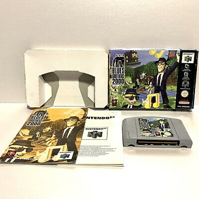 Blues Brothers 2000 - Nintendo 64 N64 - Boxed & Complete PAL Titus