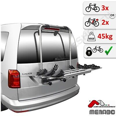 Portabicicletas Para Portón 3 Bicicletas Heckträg VW Volkswagen Caddy IV 2015