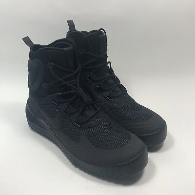 competitive price c97e7 8069a Clothing, Shoes   Accessories Men s Shoes Nike Air Wild Mid Triple All Black  Anthracite Mens Boots 916819 001