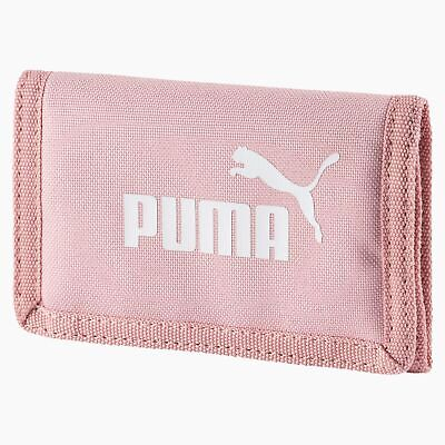 Puma Phase Sports Zipped Wallet Money Purse Bridal Rose