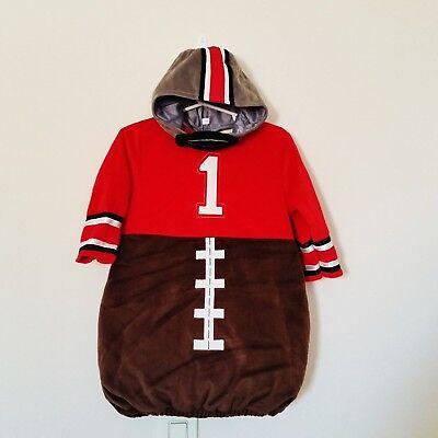 Koala Kids Girls Football 2 Pc Costume Size 12-18 Mo Warm Plush Dress & Hat  - Girls Football Costume