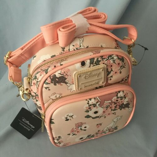 Loungefly Disney Aristocats Marie Floral Crossbody Purse Bag NWT Sold Out