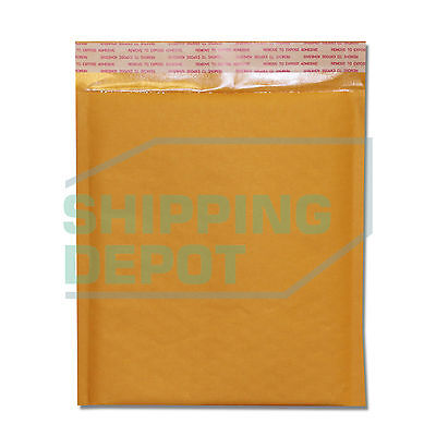 250 Dvd 7.5x10 Kraft Bubble Mailers Self Seal Envelopes 7.5x10 Secure Seal