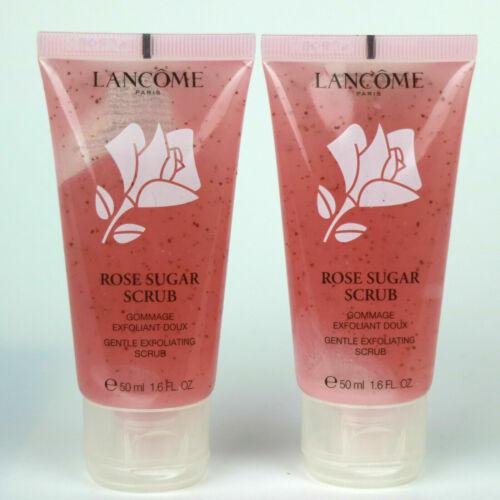 2 X Lancome Exfoliating Rose Sugar Scrub 1.6 oz / 50 ml each USA