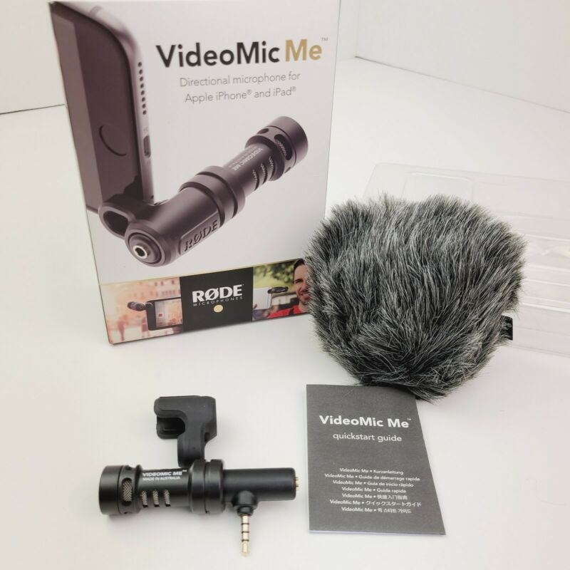 Rode VideoMic Me Directional Microphone for Smartphone Video Mic Me VideoMicME