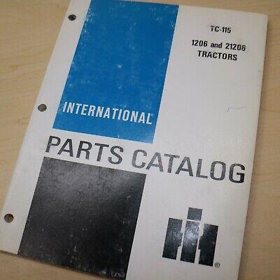 Ih International 1206 21206 Tractor Parts Manual Book Spare Catalog Farm List