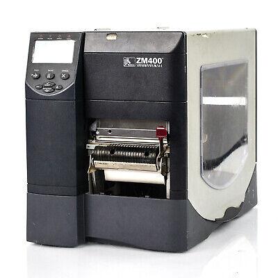Zebra Zm400 Thermal Barcode Label Printer Usbserialparallel Interface
