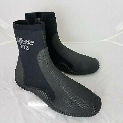 Zip Wetsuit Boot Mirage TTZ Unisex Dive Boots 5mm Size 10