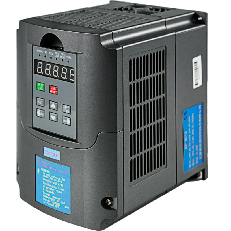 1.5KW 2HP CNC 110V VARIABLE FREQUENCY DRIVE Speed Control INVERTER VFD
