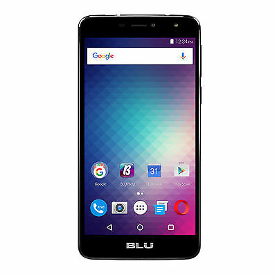 BLU Studio XL2 16GB Unlocked GSM 4G LTE 13MP Quad-Core Smartphone - Black