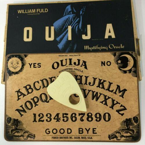 Vintage Ouija Board William Fuld Talking Board Parker Brothers Salem Mass USA