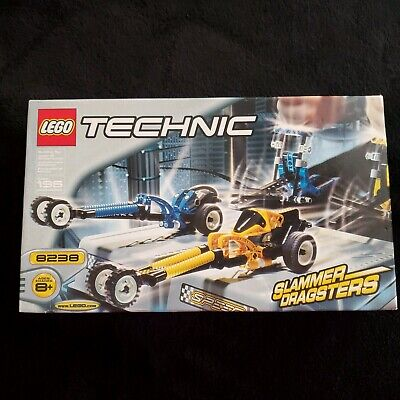 LEGO TECHNIC SLAMMER DRAGSTERS 8238 - NEW FACTORY SEALED-FREE SHIPPING!!