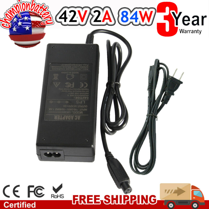1Pc Battery Charger for Scooter Hover Board Unicycle Self Balancing Electric
