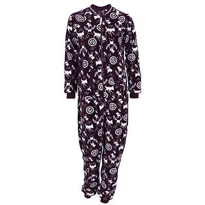 Erwachsene Disney Onesies (Disney Bambi Ganzkörper Schlafanzug Schlafoverall Onesie Einteiler Hausanzug)