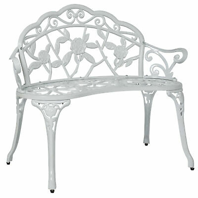 BCP Floral Rose Garden Bench Accent Furniture w/ Steel Frame Swing Frame Accent