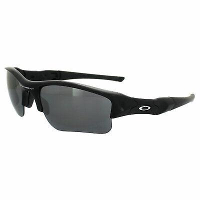 Oakley Sonnenbrille Flak Jacket Xlj Jet Schwarz Iridium Polarisiert 12-903