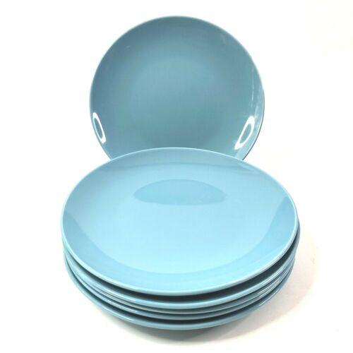 Ikea Fargrik Turquoise Salad Plates Set of 6